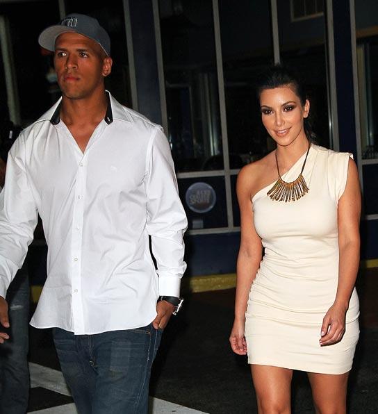 Kim Kardashian, Miles Austin, Dallas Cowboys, boyfriend, date