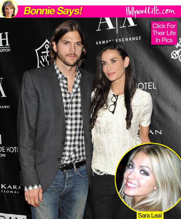 Demi Moore Ashton Kutcher Split