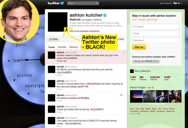 Ashton Kutcher Twitter