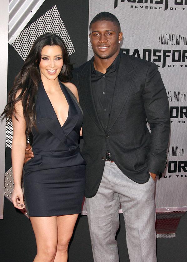 Kim Kardashian & Reggie Bush married