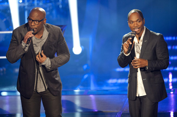 The Voice Anthony Evans And Jesse Campbell