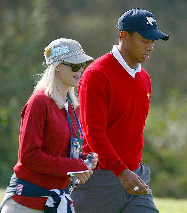 Tiger Woods Was Nasty To Elin Nordegren, Says Tell-All Book
