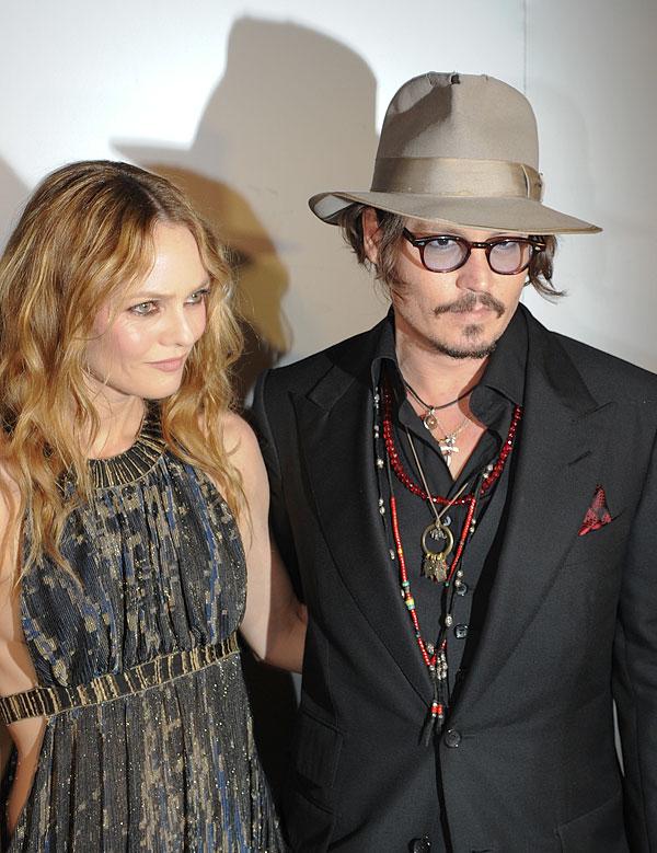 Johnny Depp Vanessa Paradis Split