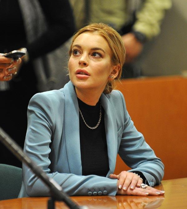Lindsay Lohan lied to police