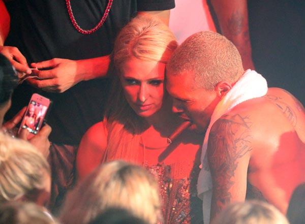 Paris Hilton and Chris Brown Dating