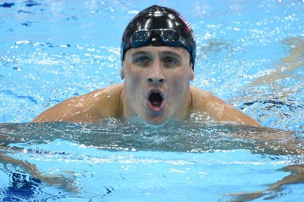 Ryan Lochte Pees In Pool