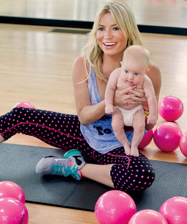 Tracy Anderson baby weight
