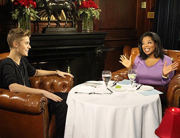 Justin Bieber Oprah