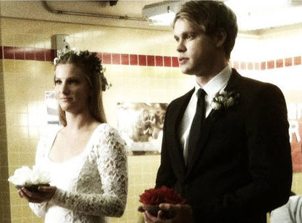 On glee life real who married in is The Truth
