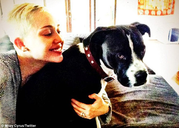 Miley Cyrus Smiles Again After Lila Died