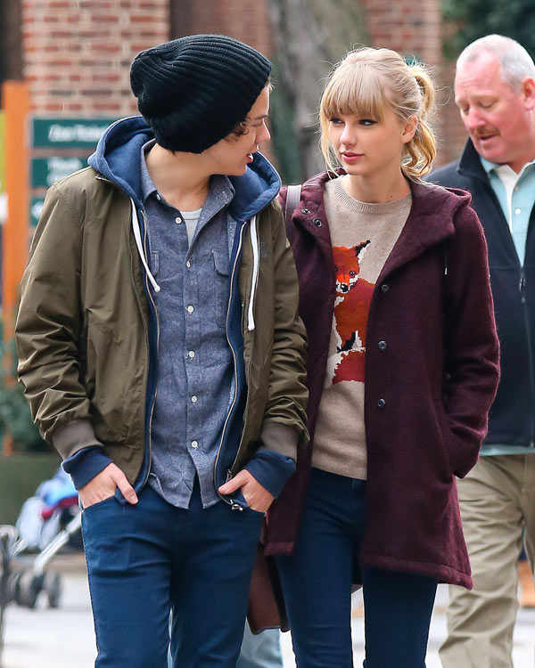 Taylor Swift Harry Styles Dating Fans Need To Get Over It Hollywood Life