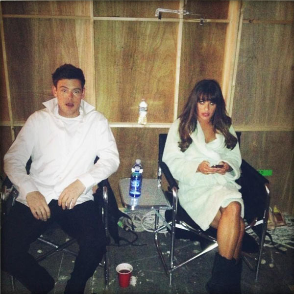 Lea Michele Dating Cory Monteith