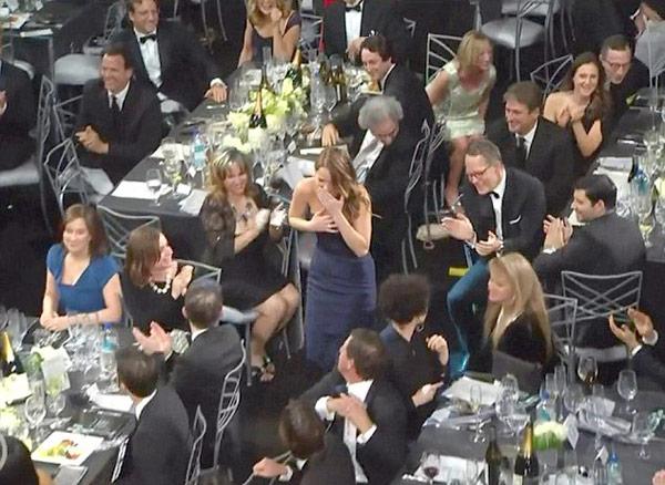 Jennifer Lawrence Dress Rips