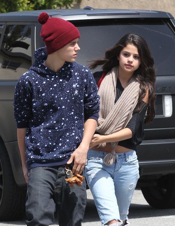 Selena Gomez Justin Bieber Split