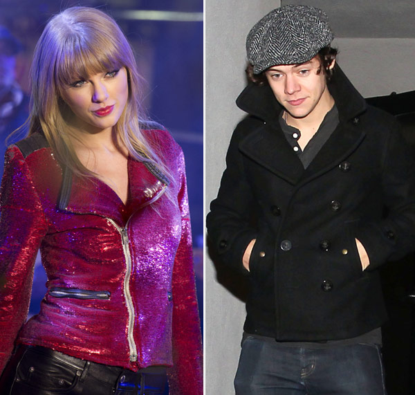 Taylor Swift Harry Styles Kissing