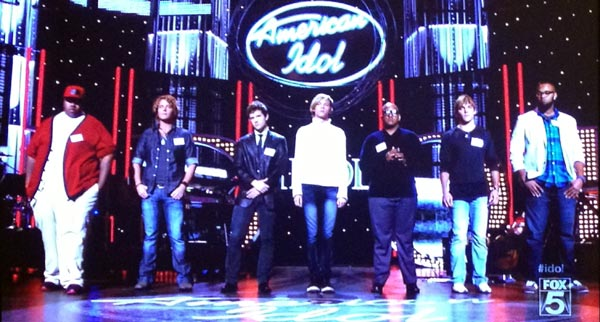 American Idol Hollywood Week Solo Auditions