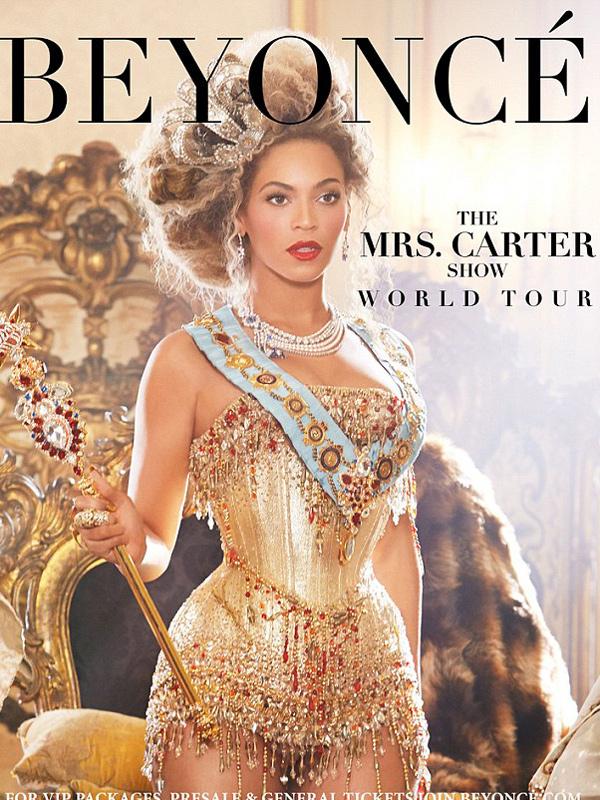 Beyonce World Tour Dates