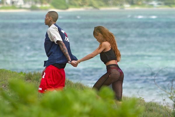 Chris Brown Rihanna Hawaii