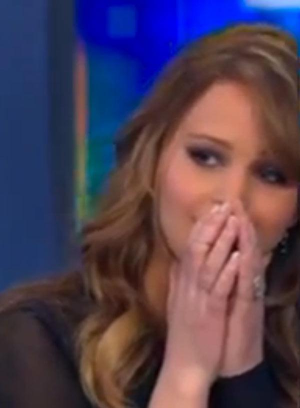 Jennifer Lawrence Wardrobe Malfunction
