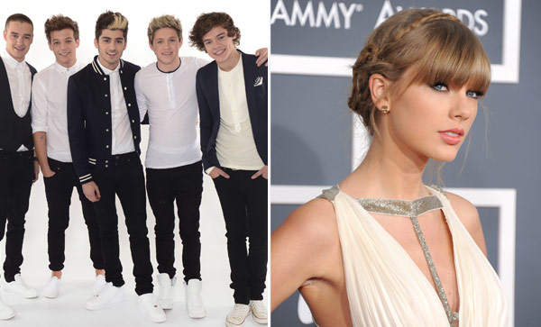 Taylor Swift Harry Styles Fighting At Kids Choice Awards 2013 Hollywood Life