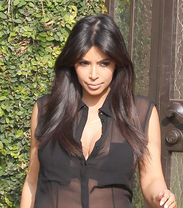 Kim Kardashian Long Nails