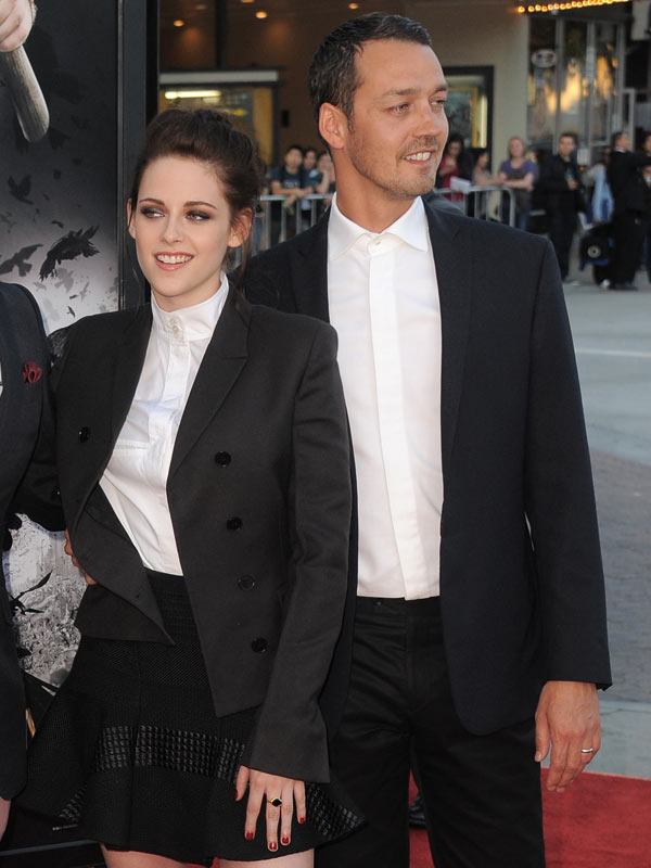 Kristen Stewart Ignoring Rupert Sanders