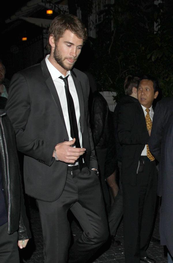 Liam Hemsworth Miley Cyrus Issues