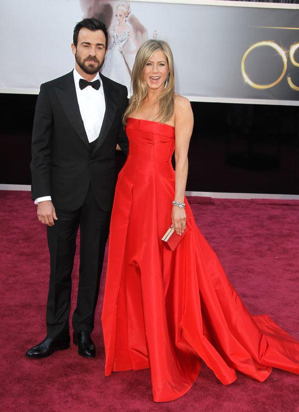 Justin Theroux Jennifer Aniston Married