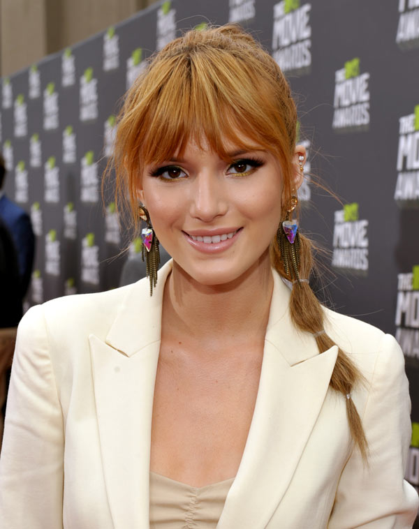 Bella Thorne Hair MTV Movie Awards