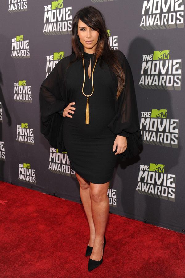 Kim Kardashian MTV Movie Awards Dress