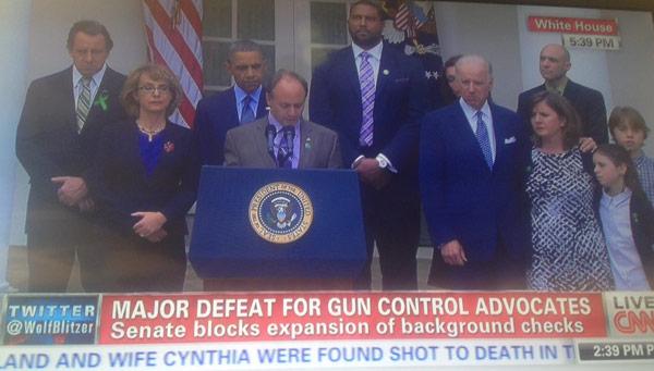 Senate Blocks Gun Control