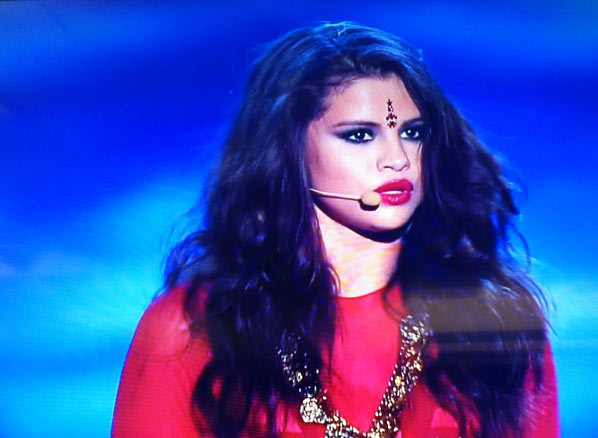 Selena Gomez On Stage MTV Movie Awards