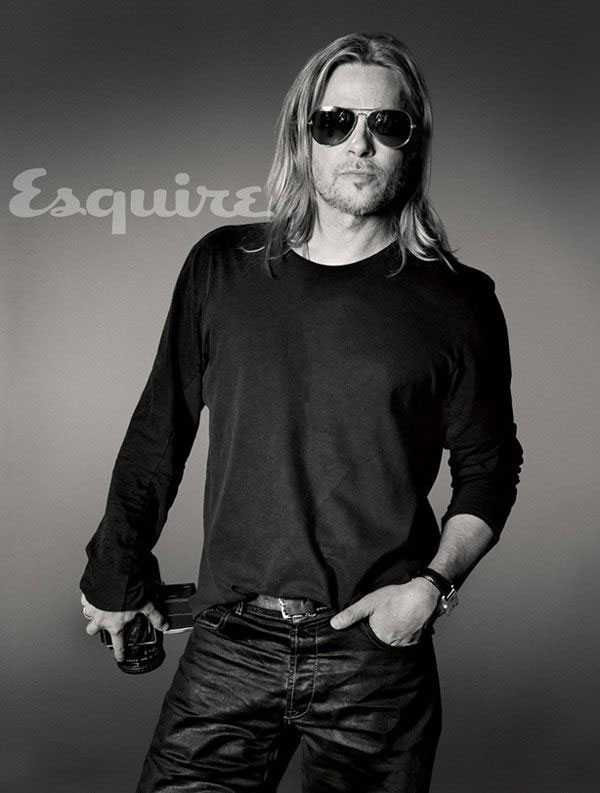 Brad Pitt Jennifer Aniston Esquire