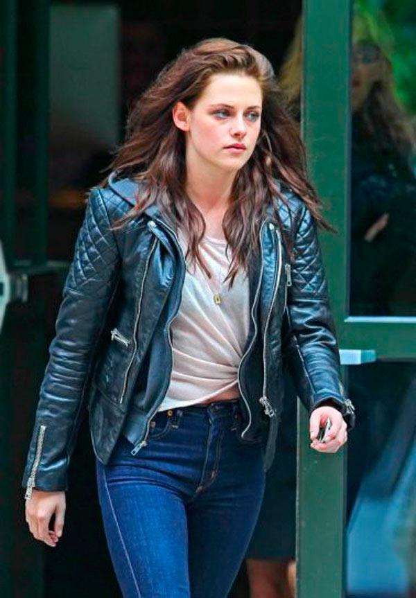 Kristen Stewart Pizza date Robert Pattinson