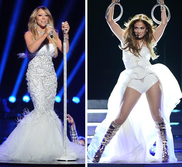 Jennifer Lopez Mariah Carey American Idol