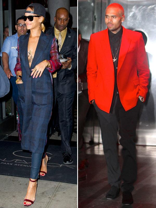 Rihanna Chris Brown Twitter Fight