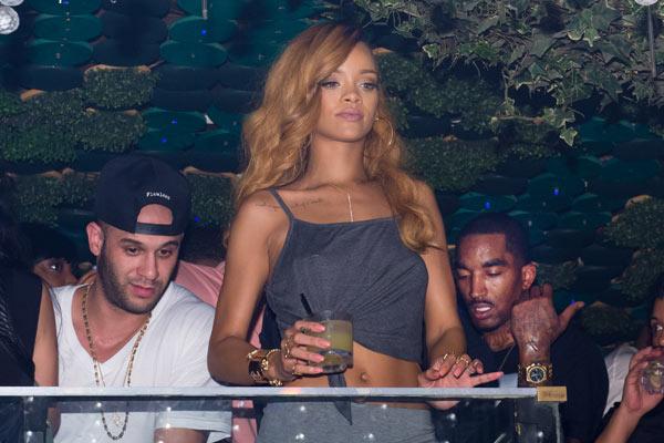JR Smith Rihanna Partying NYC