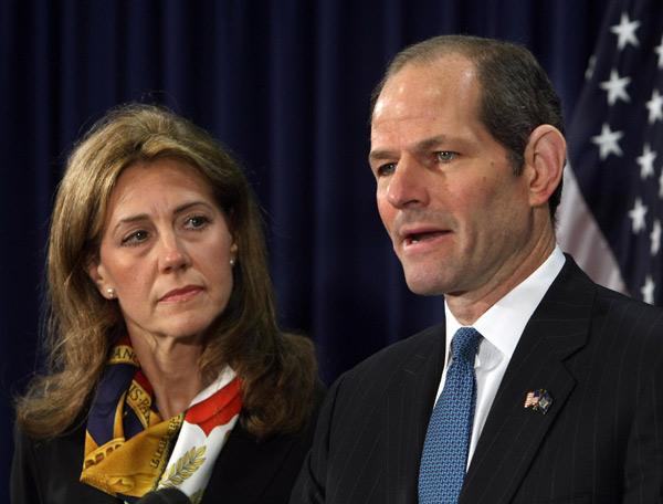 Silda Eliot Spitzer Living Apart