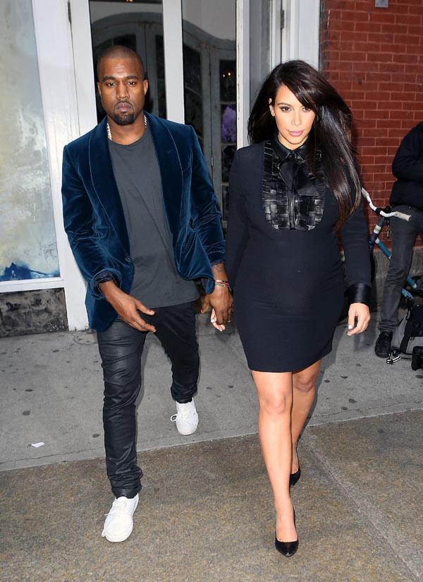 Kim Kardashian Kanye West Baby Name