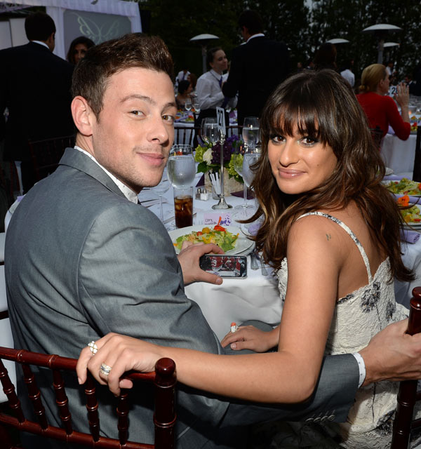 Cory monteith and lea michele dating new dating.ru