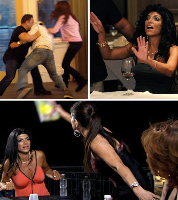 The Real Housewives Of New Jersey Biggest Fights