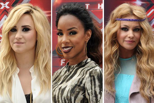 X Factor Judges Beauty