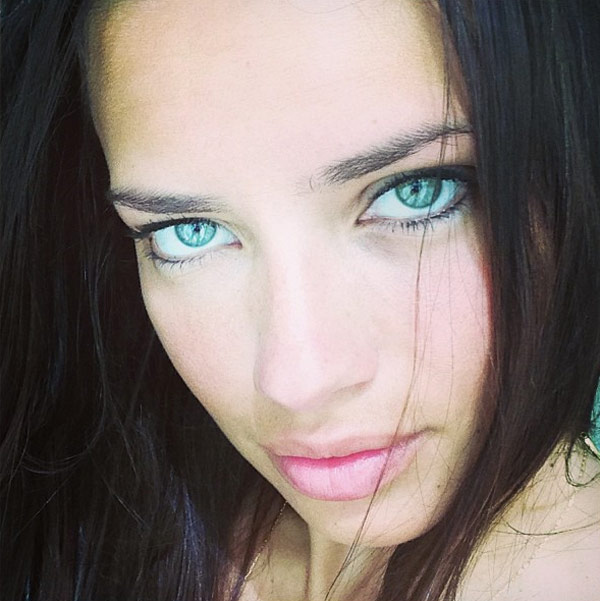 Adriana Lima Natural Makeup
