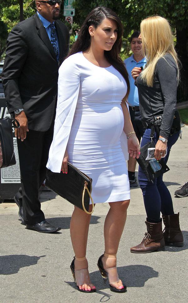 Kim Kardashian Baby Photo Deal