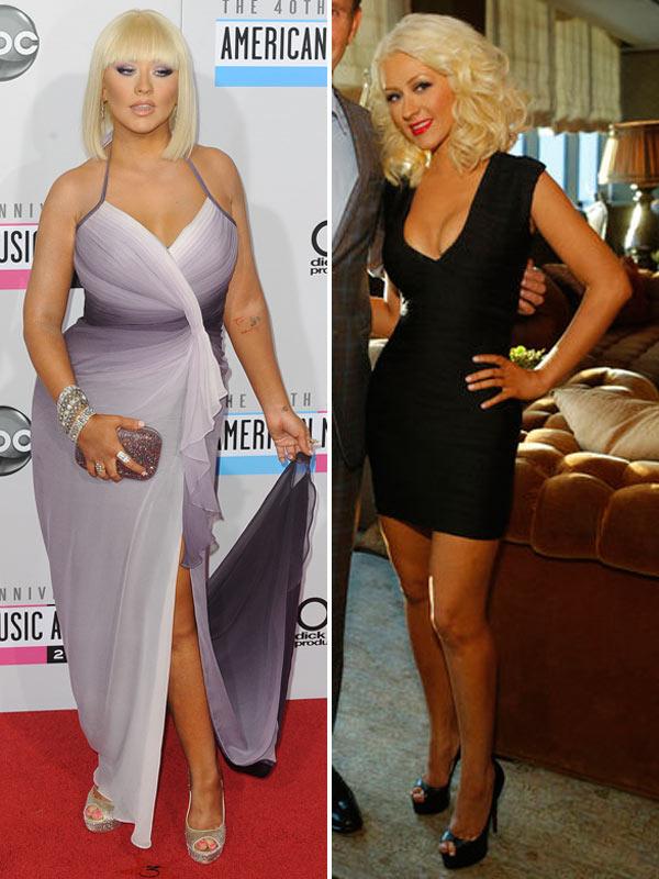 Christina Aguilera Skinny