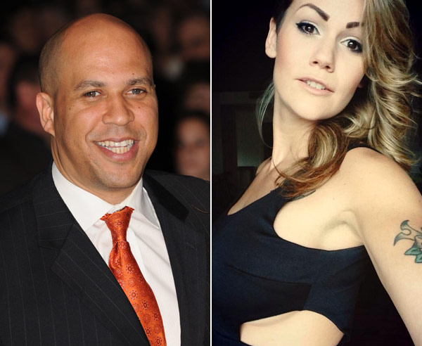 Cory Booker Lynsie Lee