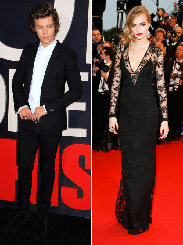 Harry Styles Not Dating Cara Delevingne