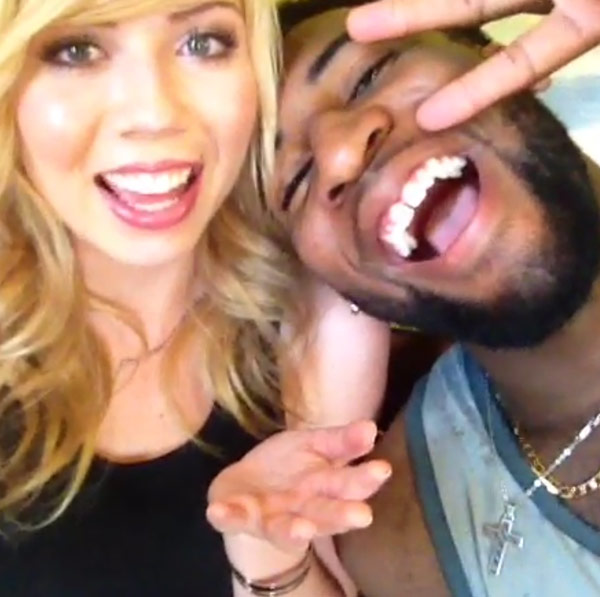Jennette McCurdy & Andre Drummond — They Finally Meet