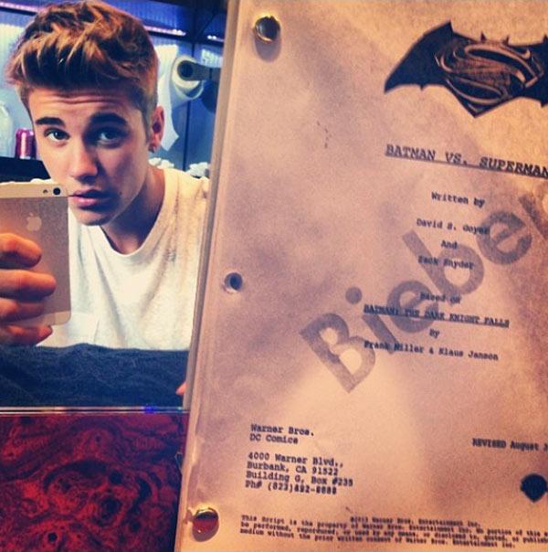 Justin Bieber Batman Vs. Superman