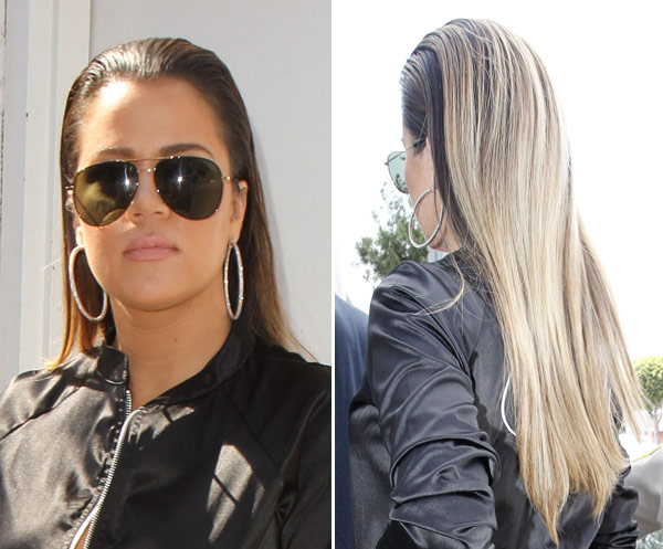 Khloe Kardashian S Slicked Back Hair Love Or Loathe Her New Look Hollywood Life